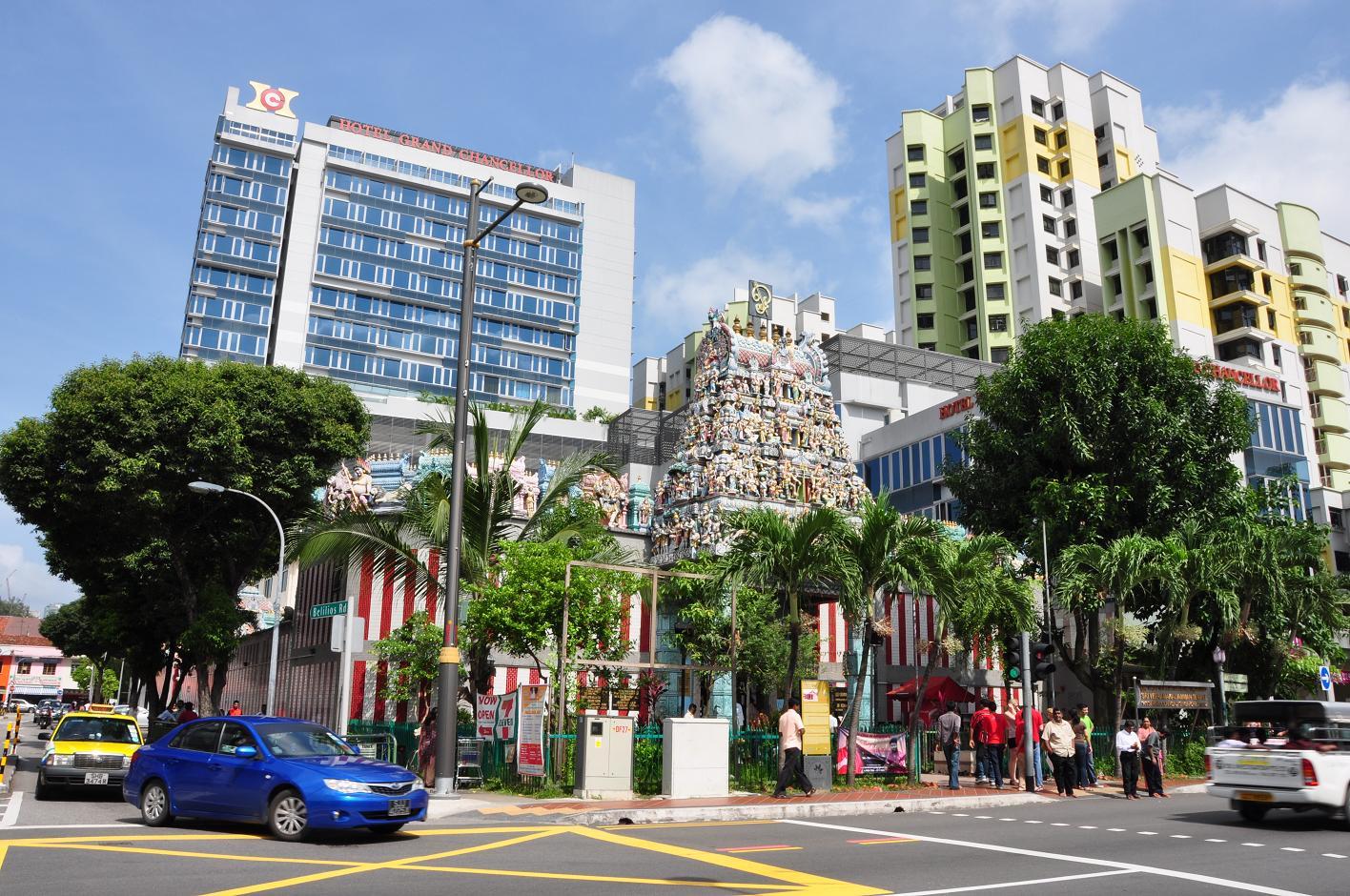 khu tieu an o singapore 1
