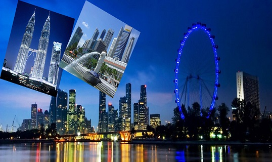 tai sao nen chon singapore malaysia de du lich tet 2017