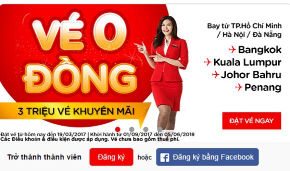 khuyen mai sieu re cua air asia va vietnam airlines 1