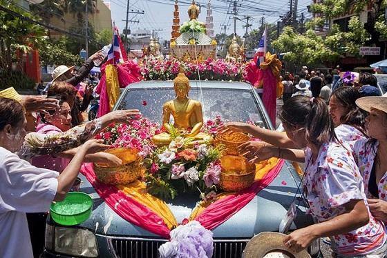 le hoi te nuoc thai lan songkran 2