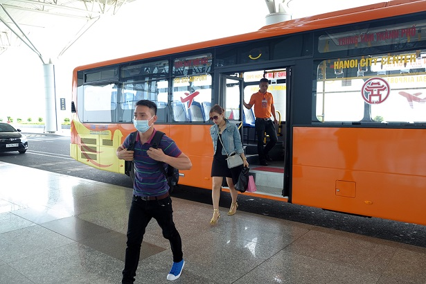 nhung tuyen xe bus di trung tam ha noi den san bay noi bai 2