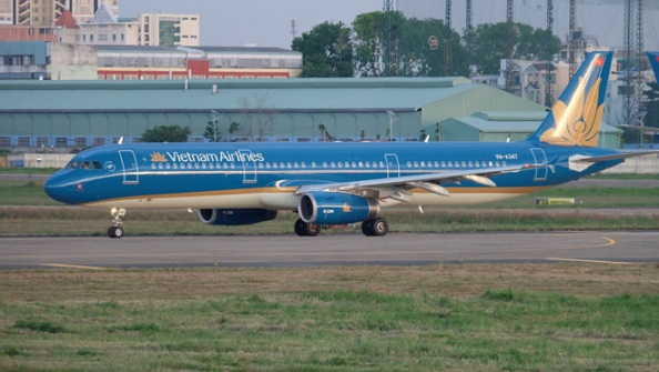 vietnam airlines thay doi lich trinh bay di trung quoc 1