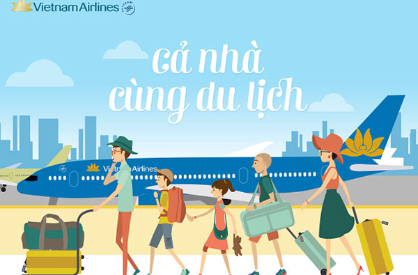 Ngay 15 08 Vietnam Airlines khuyen mai gia ve chi tu 299000 vnd 2