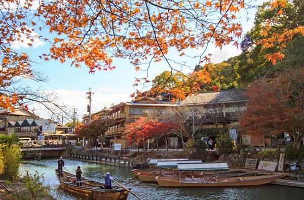 danh sanh nhung diem den ngam mua la do o Kyoto 1