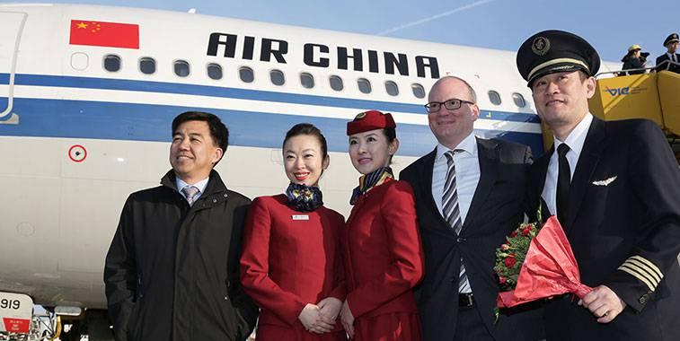 air china mo duong bay